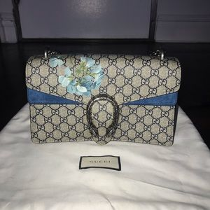 GUCCI DIONYSUS SMALL GG BLOOM SHOULDER BAG